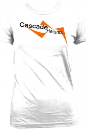 Cascade Heights Women's White T-Shirt