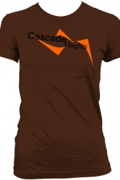 Cascade Heights Women's Brown T-Shirt