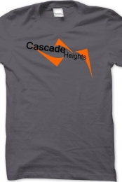 Cascade Heights Men's Gray T-Shirt