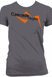 Cascade Heights Women's Gray T-Shirt
