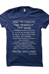 Perfect Pet Name (Navy)