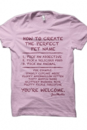Perfect Pet Name (Pink)