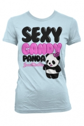 Girls Sexy Panda (Light Blue)
