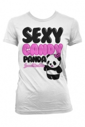 Girls Sexy Panda (White)