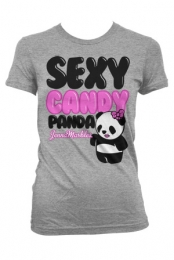 Girls Sexy Panda (Heather Grey)
