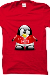 Man United T-shirt Pinguin
