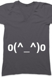 Emoticon Tee o(^_^)o