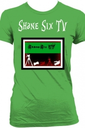 Shane Six TV Shirt With Logo Green