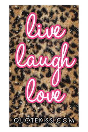 Live, Laugh, Love Magnet Accessory   Quote Kiss Accessories   Online Store  On District Lines