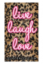 Live, Laugh, Love Magnet