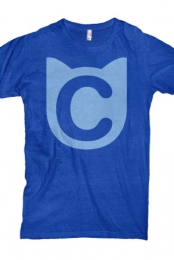 Cat Logo (Royal Blue)