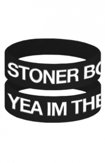 Stoner Boy Swag Wristband + I'm The Sex Wristband