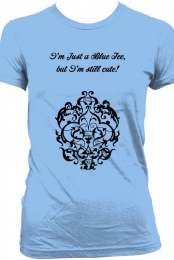 Still Cute! Blue Women's Tee