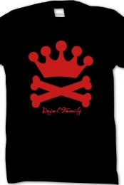 Crown and Bones (Red)