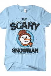 Snowman Head (Light Blue)