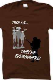 Troll army t-shirt