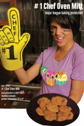 No. 1 Chef Oven Mitt