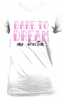 One Direction Dare to Dream T-Shirt - White