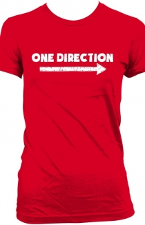One Direction Arrow T-Shirt - Red