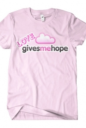 Love Give Me Hope Logo Tee