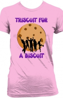 Triscuit for a biscuit