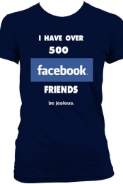 Over 500 FB Friends Tee