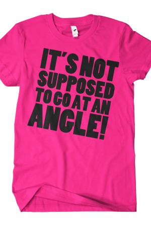 At An Angle (Hot Pink) T-Shirt - Josh Jepson T-Shirts - Official ...