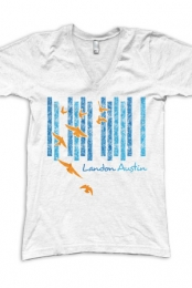 Landon V-Neck (White)