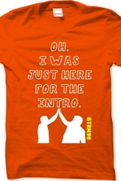 Orange Intro Tshirt