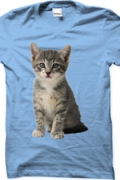 Cat Shirt (Blue)
