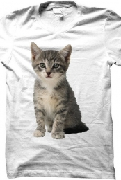 Cat Shirt (White)