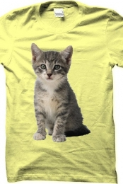 Cat Shirt (Yellow)