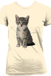 Cat Shirt (Girls Creme)