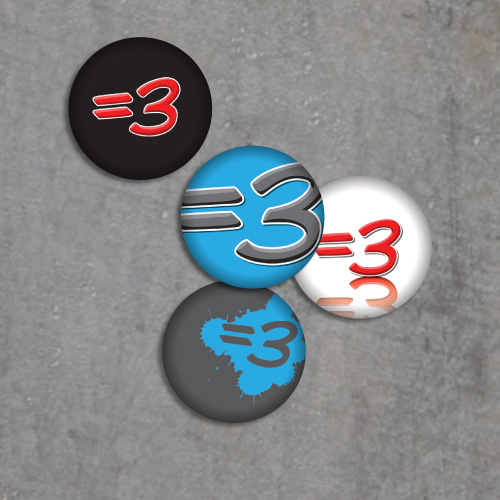 =3 Button Pack