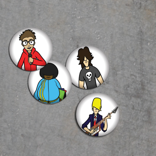 YFM Button Pack