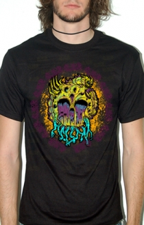 Colorful Skull (Black)