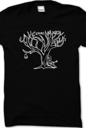 Cakeequalshappyjack black tree shirt