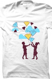 Balloons (white shirt)