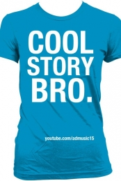 Cool Story Bro Blue