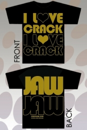 I Love Crack (Black)