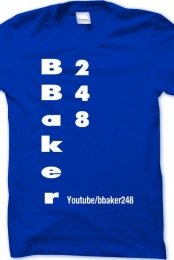 official shirt in blue