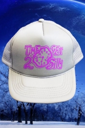 TIME 2 GET SILLY Hat (grey/purple)