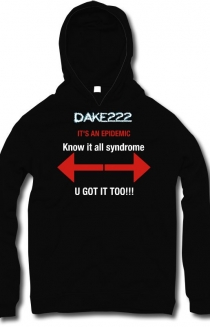 Know it all Syndrome-hoodie