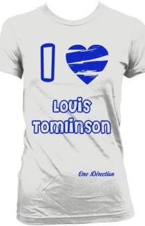I Love Louis Tomlinson- Silver
