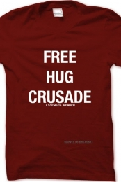Licensed Free Hug Crusade
