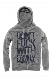 Family Hoodie (Heather Grey)