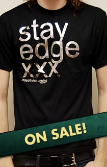 Stay Edge Silver Foil (Black)