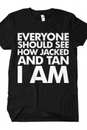 Jacked And Tan (Black)