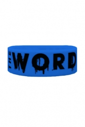The Word Alive Wristband (Royal Blue)
