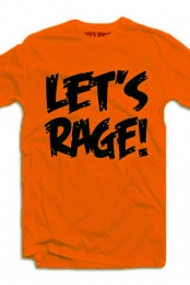 Let's Rage Logo (Neon Orange)